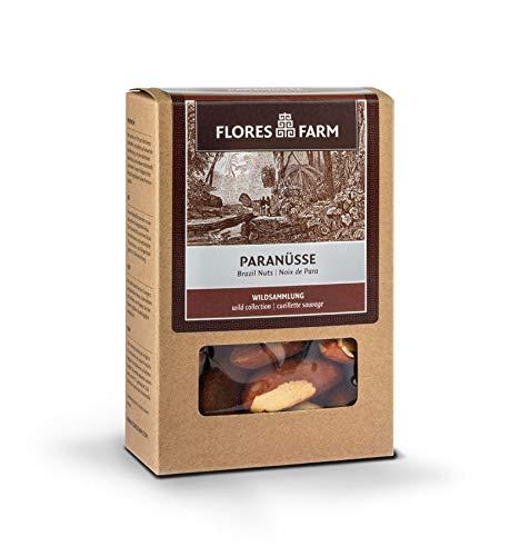 Flores Farm - Premium Bio Paranüsse - 100 g - 6er Pack