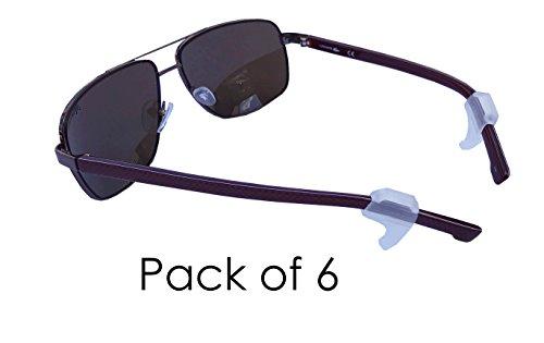 Medipaq® SPEC TABS - Oogglazen NON SLIP Houders - Grip Brillen Zonnebrillen Houders - 6 Pack