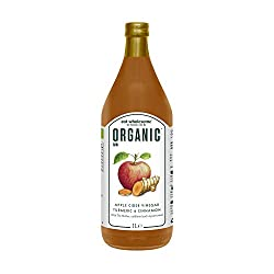 With the 'Mother' Unpasteurised, unfiltered and naturally fermented Made with organic cold-pressed apples Glass bottle with non-BPA packaging Vegan and gluten-free