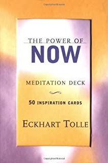 The Power of Now Meditation Deck: 50 Inspiration Cards