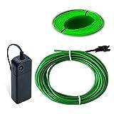 EL-Draht, grün, Balabaxer, 2,7 m, Neonlichter, Geräuschunterdrückung, Neonleuchtend,...