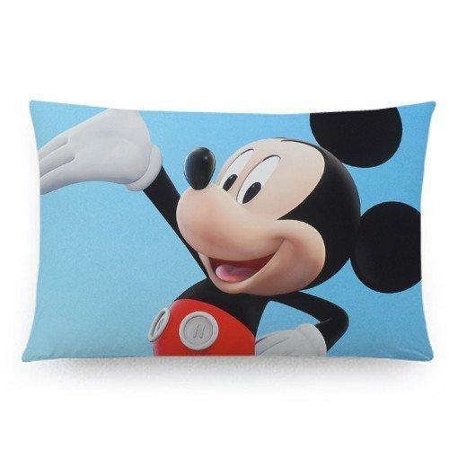 Generic Custom Leuke Mickey Mouse Twin Sides Print Home Decoratie Kussensloop Cover Standaard Maat 20*30 Inch XZ-53