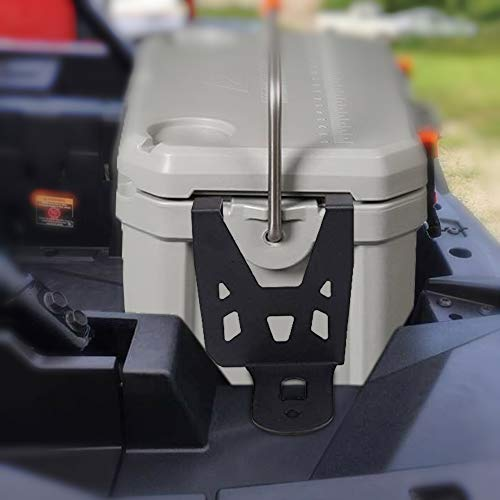 kemimoto RZR Cooler Mounting Brackets for Ozark 26 Cooler - Compatible with Polaris RZR/XP/Turbo