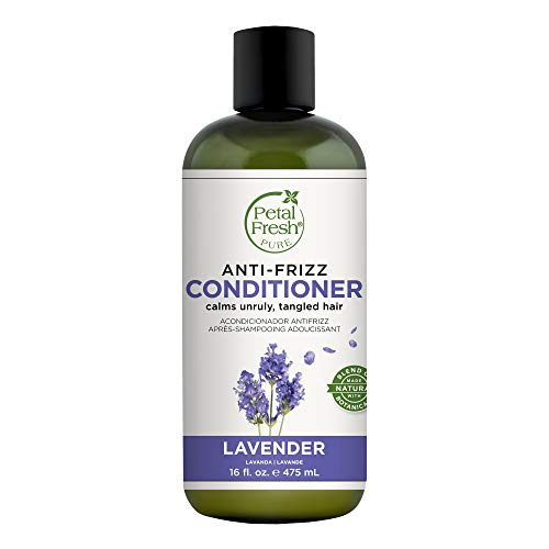 Petal Fresh Pure Lavender Conditioner, Soothes and Nourishes, Natural Essential Oils, Free of Parabens and Harsh Chemicals, Vegan and Cruelty Free, 16 Fl.oz