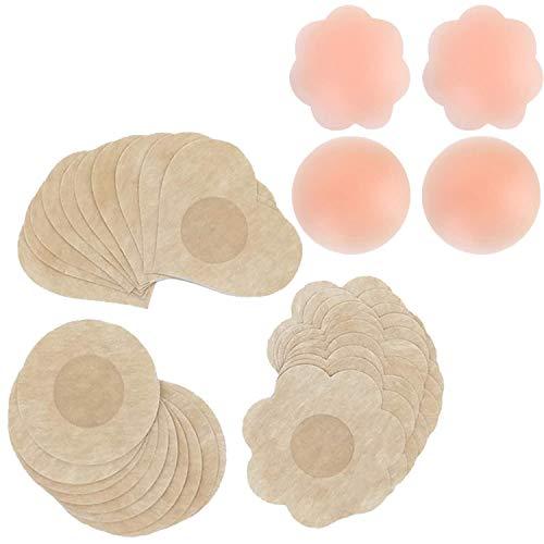 Brustwarzenaufkleber, selbstklebend, 32 Paar