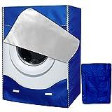 Funda Lavadora, Secadora de Carga Frontal para Lavadora Cubierta Impermeable para Lavadora (60 * 85 * 60cm,Blue)