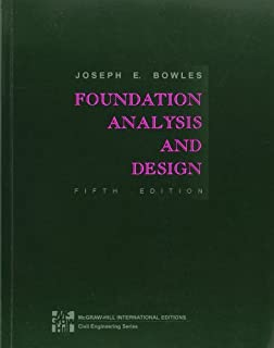 By BOWLES FOUNDATION ANALYSIS AND DESIGN [Paperback]