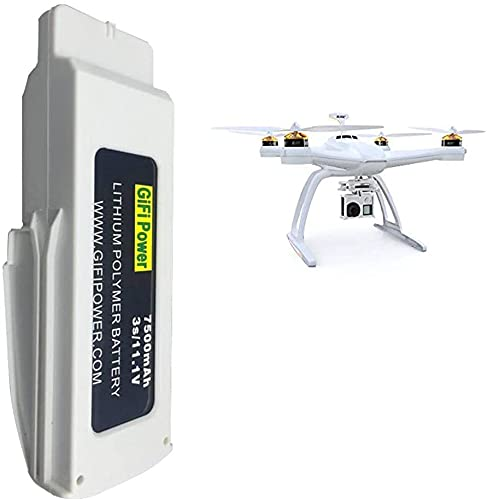 STORM GYRO Batería de vuelo de 11,1 V 7500 mAh compatible con Blade Chroma RC Drone recargable RC Quadcopter 3S Lipo Batería de repuesto de repuesto