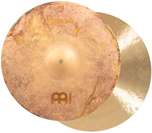 """MEINL Cymbals マイネル Byzance Vintage シリーズ ハイハットシンバル 16"""" Vintage Sand Hihat ペア B16SAH 【国内正規品】"""