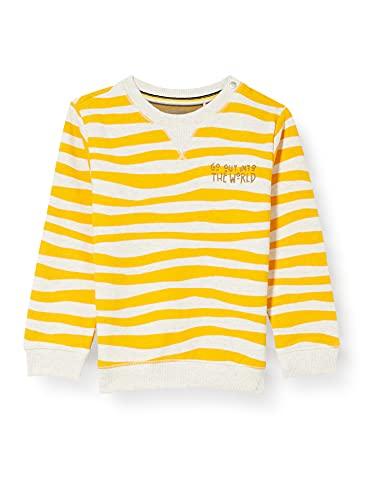 Noppies Baby-Jungen B Sweater Tullah Sweatshirt, Old Gold-P712, 74
