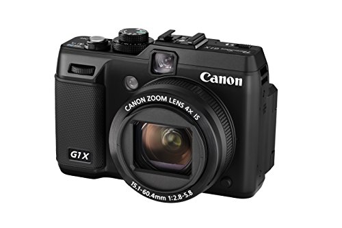 Canon PowerShot G1 X Digitalkamera (14,3 MP, 4-Fach Opt. Zoom, 7,6cm (3 Zoll) Display, bildstabilisiert) schwarz