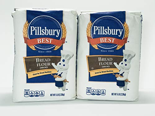 Pillsbury Best - Bread Flour Enriched - 2 Packs 10LB Total (5LB each pack)