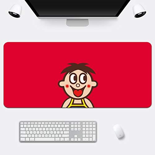 Z IMEI Verlängert Pu Laptop-Tastatur-Maus-pad Spiele Mauspad Desk-pad-Protector Mit Komfortablen Schreibfläche Wasserdicht Ultra Dünn 2 Mm-e 70x36cm/28x14inch