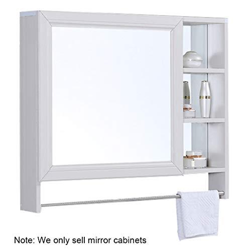 Armoires avec miroir Armoire de Toilette Miroir Mural pour Salle de Bain Armoire de Toilette avec étagères Armoire de Toilette avec Porte-Serviettes Miroirs de Salle de Bain