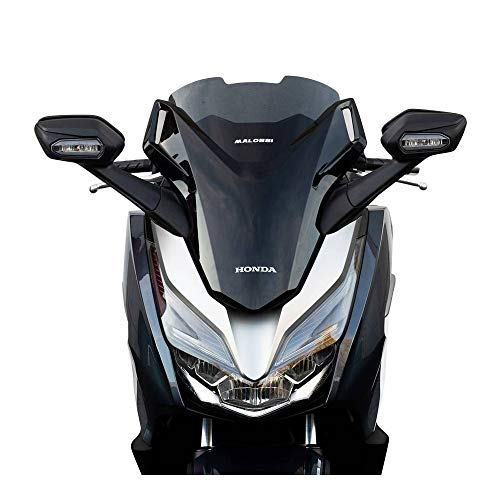 Motodak Bulle-Saute Vent Maxiscooter para Honda 125 Forza 2017+, 300 Forza 2018+ (Fuma) – Malossi