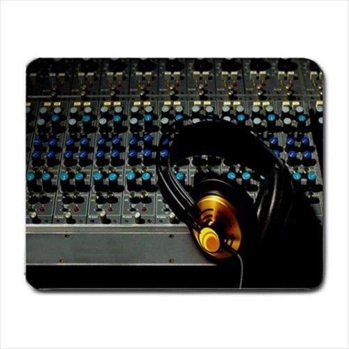 Estudio Mic Grabación Ambos Grabar Cantante Productor DJ Pro Mousepad Mouse Pad SM3