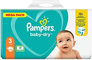 Pampers 81715582 Baby-Dry Pants luiers, wit