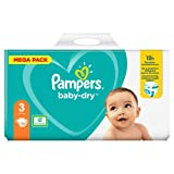 Pampers Baby-Dry Pants Couches Taille:3, 102 culottes