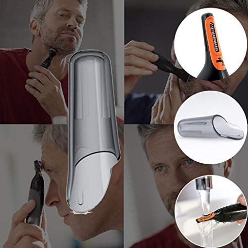 Shan-S for Philips Nose Hair Trim-mer 5100 Cutter Width Nose Trimmer Cap Replacement Parts for Ears Eyebrows Comfortably Trim Your Neck, Sideburns, Stubble and Beard