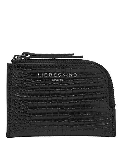 Liebeskind Berlin Meryl Lena Geldbörse, Small (8.5 cm x 12.5 cm x 1cm), black