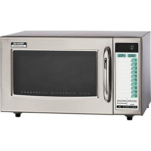 Sharp Medium-Duty Commercial Microwave Oven (15-0427) Category: Microwaves, R-21LTF