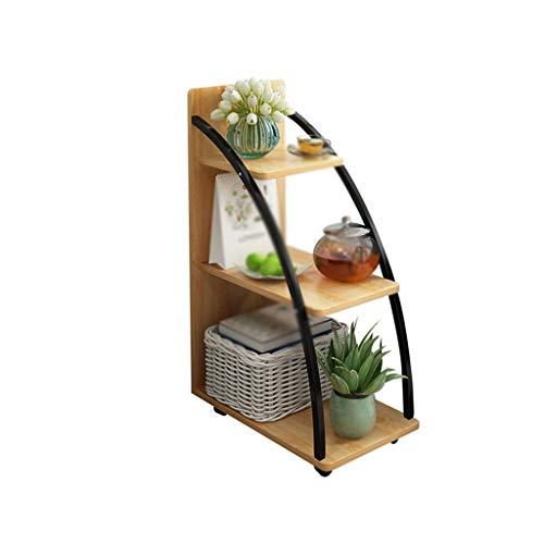 C-J-Xin Creatieve mini-salontafel, moderne eenvoud, vrije tijd, kleine tafel, sofa, zijkast, bloemenstandaard, decoratie, thee, tafel, ruimte besparen