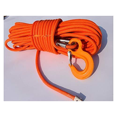 Zhaolan-Digital Tester Orange 12mm * 30m Jacke Kunststoffseil, ATV Seilwinde, Boot Winch Seil Autozubehör Autoteile (Color : Orange)