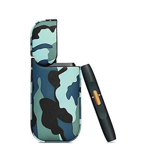 Estuche de cuero Camo Color para IQOS 2.4 Plus Cigarrillo electrónico para...