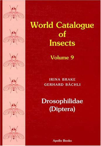 Drosophilidae (Diptera) (World Catalogue of Insects)