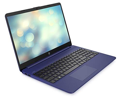 HP 15s-eq0032na 15.6 Inch Full HD Laptop - (Blue) (AMD Ryzen 5 3450U, 8 GB RAM, 256 GB SSD, Windows 10 Home)
