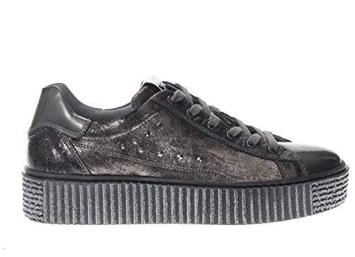 Nero Giardini Donna Sneaker A806653D Grigio Scarpe in Pelle Autunno Inverno 2019 EU 37