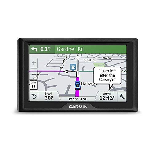 Garmin Drive 51 LMT-S EU Navigationsgerät - lebenslang Kartenupdates & Verkehrsinfos, Sicherheitspaket, 5 Zoll (12,7cm) Touchdisplay, schwarz (Generalüberholt)