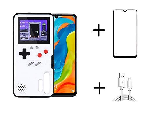 Homi2019 Game Hülle für Huawei P30 Pro, Retro 3D Schutzhülle mit 36 kleinen Spielen, Full Color Display, Cooler Telefonkasten des kreativen Entwurfs (Gratis Geschenk- Handy-Displayschutzfolie)