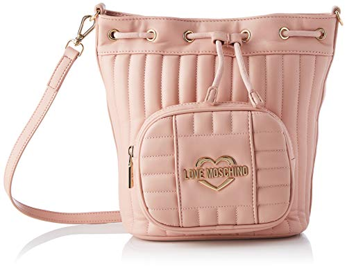 Love Moschino SS21 - Cubo para mujer, normal Rosa Size: Normal