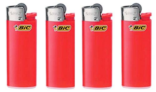 Veel van 4 Bic Mini Rode Aanstekers door BIC