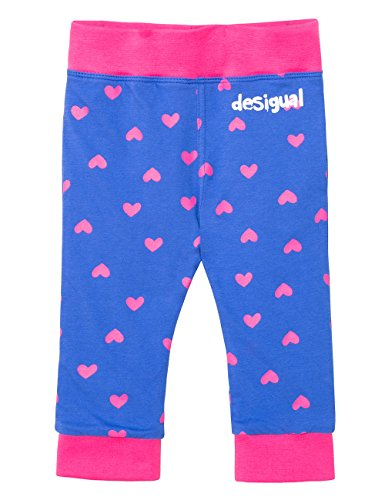 Desigual Pant_Patricia Pantalon, Bleu (Tinta 5011), 3-6 Mois (Taille Fabricant: 62 (6) Bébé Fille