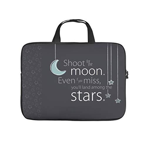 Mond und Sterne Laptoptasche Kratzfest...