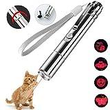 JK-Fashion Juguetes para Gatos y Perros con Carga USB 6 en 1 Función Juego Interactivo Divertido, Regalo Gratuito para Juguete de Peces con Catnip Gusto