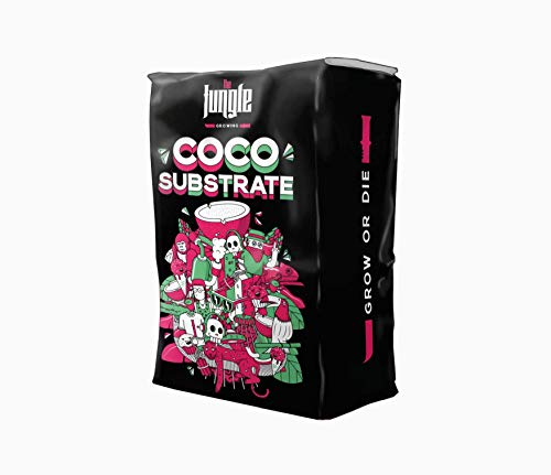 SYSLED SPAIN The Jungle - Sustrato de Coco Natural Bloom Booster + MAX Rooting 50L