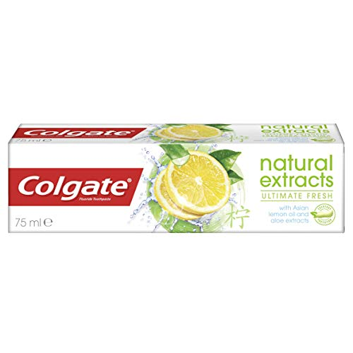 Colgate Zahnpasta Natural Extracts Ultimate Fresh, 75 ml