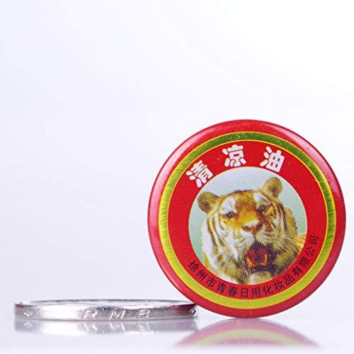 Sunlera 5 / 10 bálsamo del tigre alivio del dolor pomada para masaje, color rojo y blanco