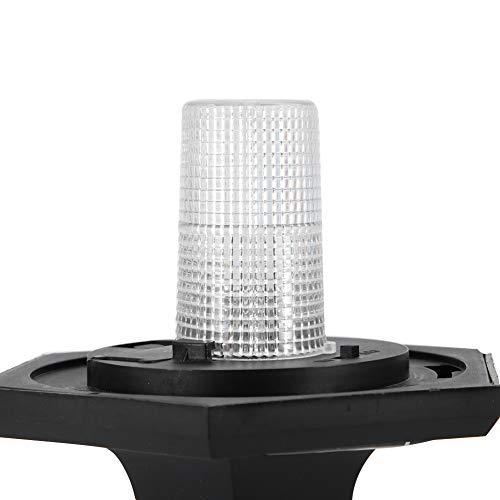 Zwindy Lámpara solar para exteriores, IP65, impermeable, luz blanca, para balcón para pasarela de paisaje para jardín