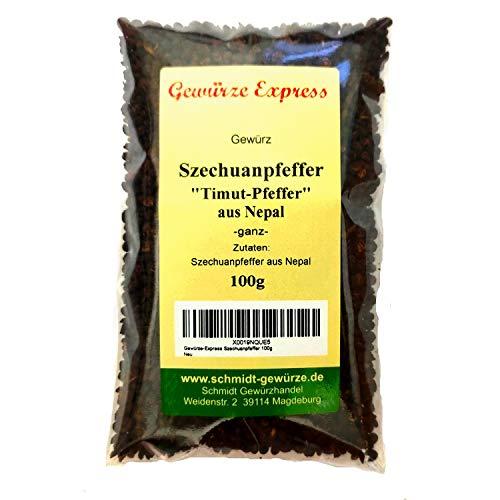 Gewürze-Express Szechuanpfeffer Timut Pfeffer aus Nepal, ganz, 100g