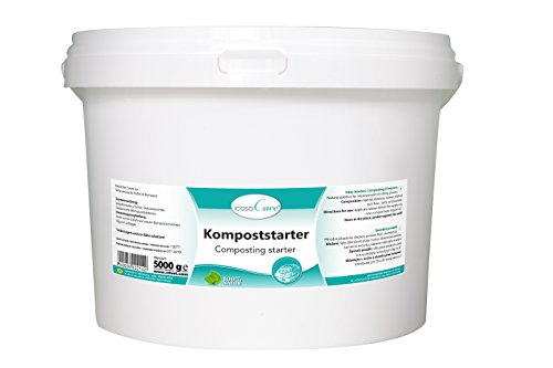 cdVet Naturprodukte casaCare Kompoststarter 5 kg - Optimierung Düngeeigenschaften - natürlich - Humifizierung - Humusgeruch - Bekämpfung Fäulnisgeruch + Schaderregern - ohne chemische Rückstände -