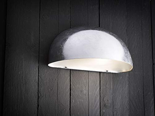 Nordlux Downlight, metaal, E27, 60 W, grijs, 27 x 13,5 x 13 cm