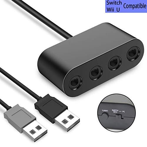 TUTUO GameCube Controller Adapter ,Wii U Gamecube NGC