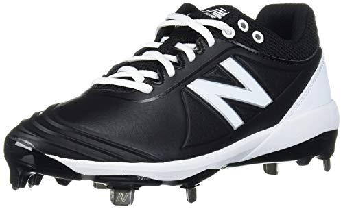 New Balance Damen Fuse V2 Low-Cut Metal Softball-Schuhe, schwarz/weiß, 36 EU