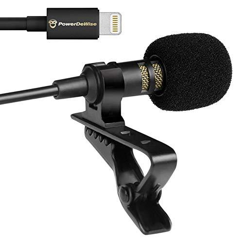 PowerDeWise Lightning Lavalier Microphone