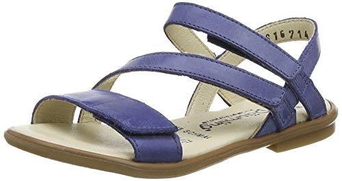 Däumling Mädchen Rovenna Riemchensandalen, Blau (Seta Jeans 42), 34 EU
