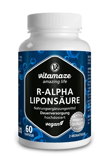 Vitamaze - amazing life R-ALPHA-Liponsäure 200mg Bild